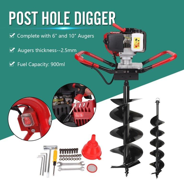 2018 One Man Post Hole Auger